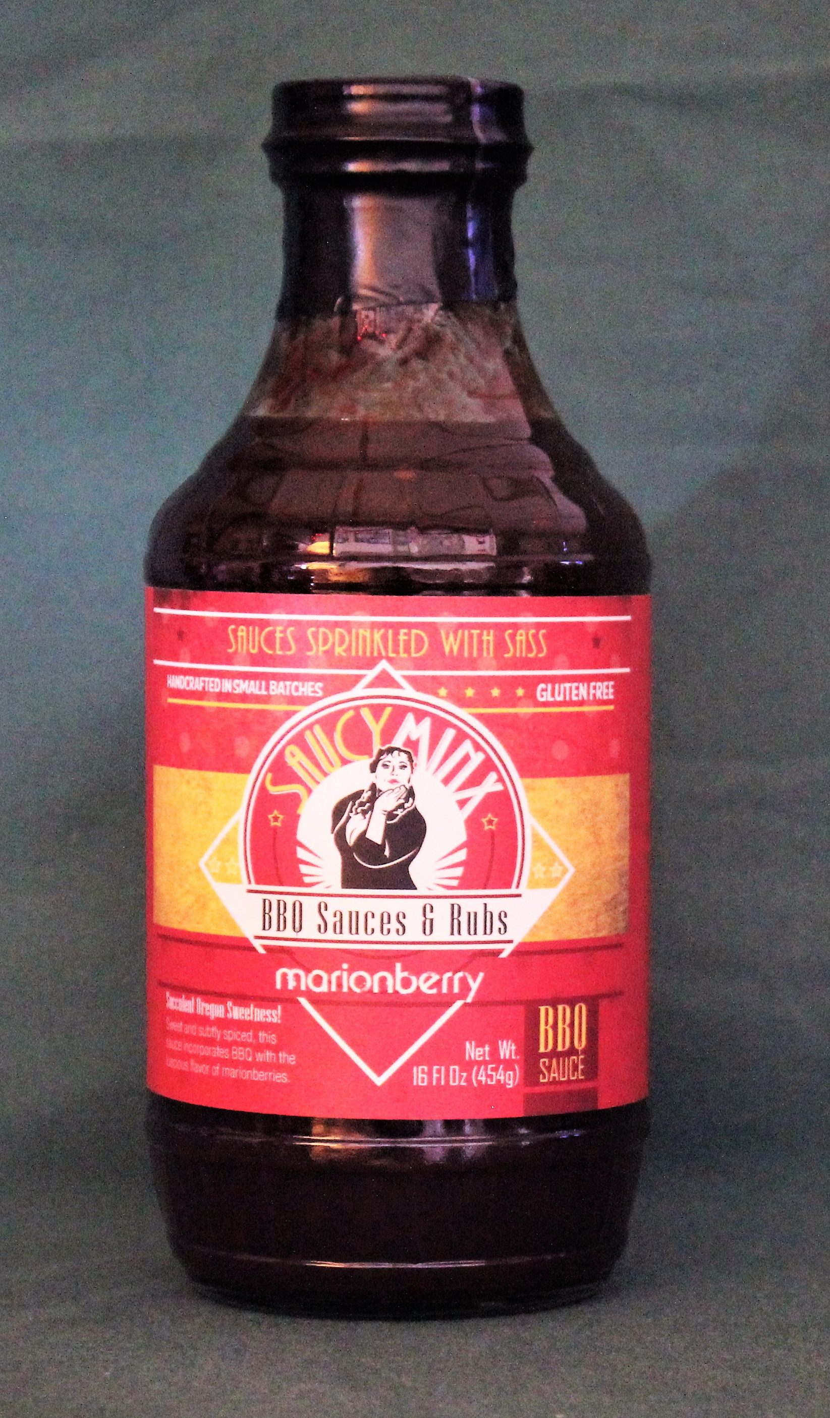 Saucy Minx BBQ Marionberry