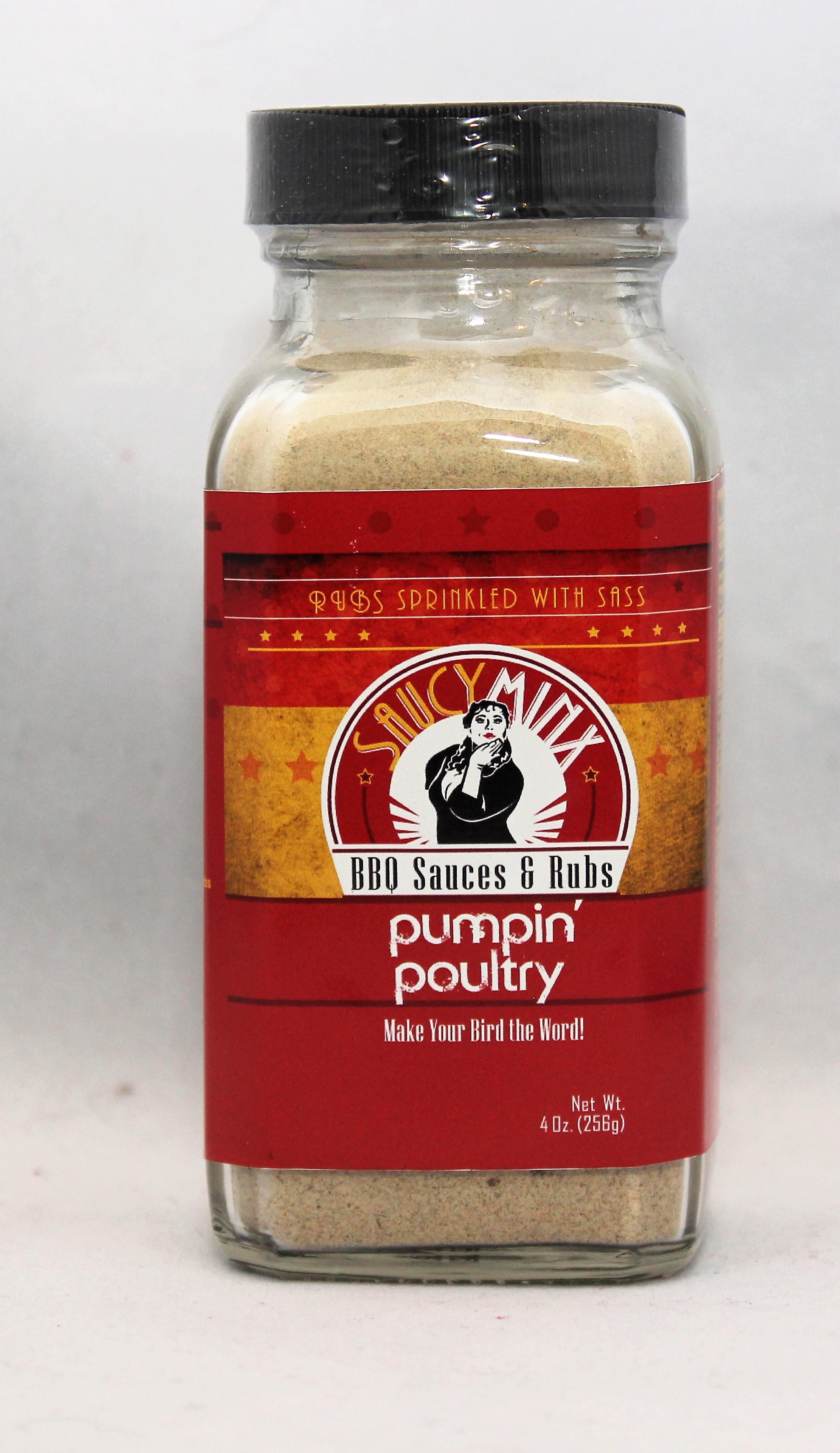 Saucy Minx BBQ Pumpin' Poultry